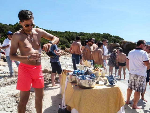 Catering in Spiaggia La Maddalena
